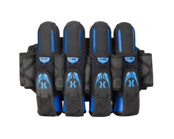 HK Army Magtek Paintball Harness Black Blue 4 + 3 + 4