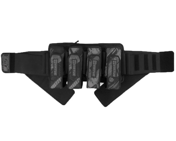 Virtue Elite Paintball Harness Graphic Black 4+7