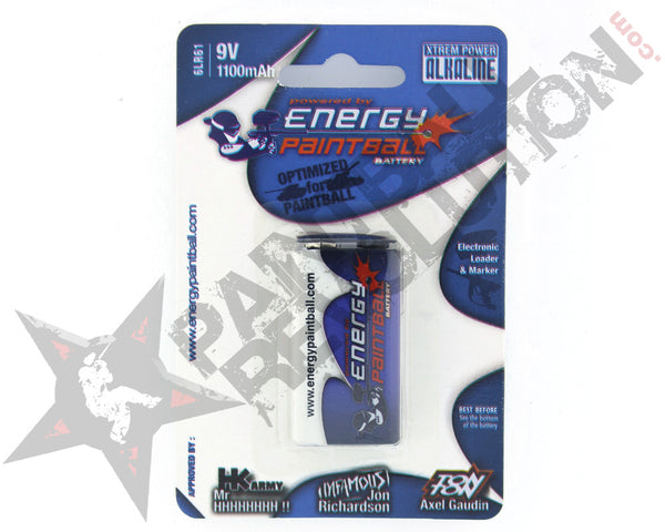 Energy Paintball 1x9V Alkaline Non-Rechargeable Battery