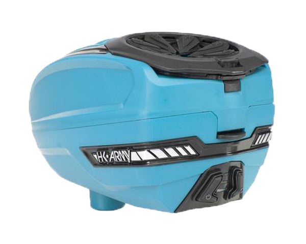 HK Army TFX 2 Paintball Hopper Loader Turquoise Black
