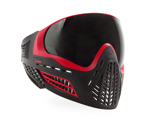 Virtue VIO Ascend Paintball Goggles Mask Red Smoke