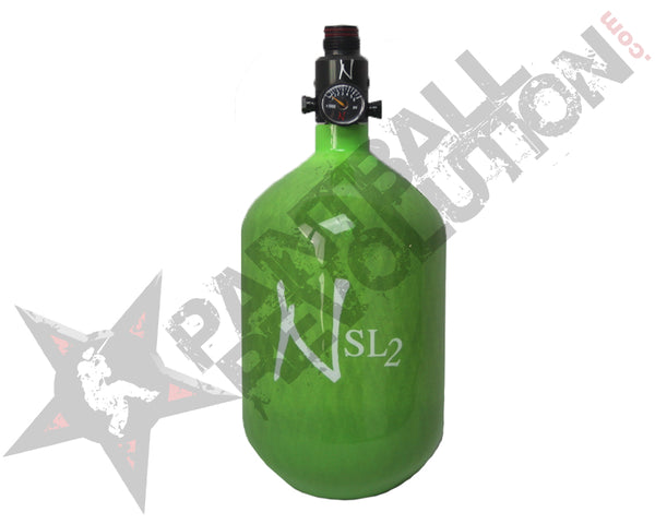 Ninja SL2 Lime Carbon Fiber Air Tank 68/4500 w Standard Adjustable Reg