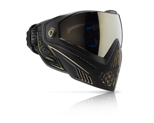 Dye Precision i5 Paintball Mask Goggles Onyx Gold (Black Gold)