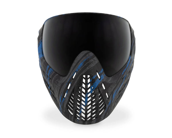 Virtue VIO Ascend Paintball Goggles Mask Graphic Cyan