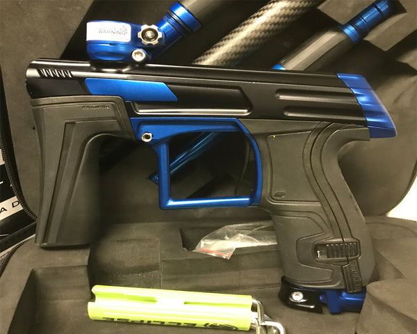 USED Planet Eclipse CS1.5 Paintball Marker Gun Black Blue