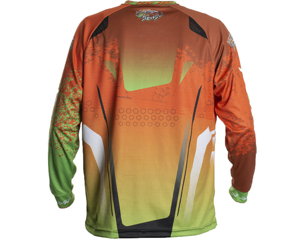 HK Army Retro Paintball Jersey Liquid Orange Lime S