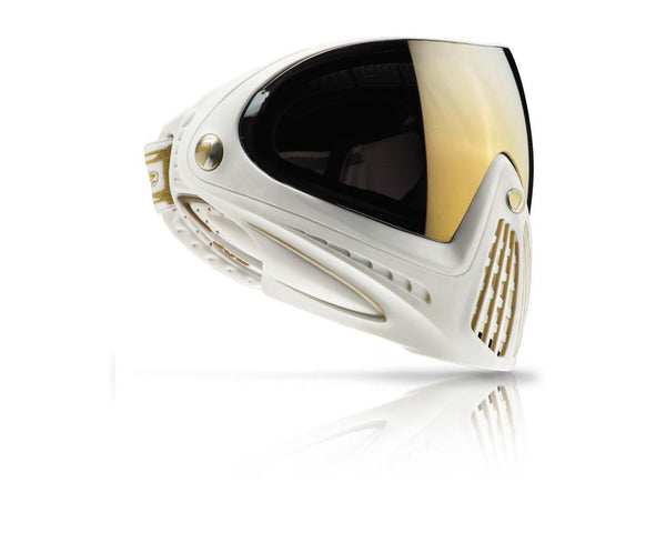 Dye Precision i4 Paintball Mask Goggles White Gold