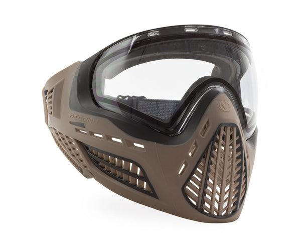 Virtue VIO Ascend Paintball Goggles Mask FDE Clear