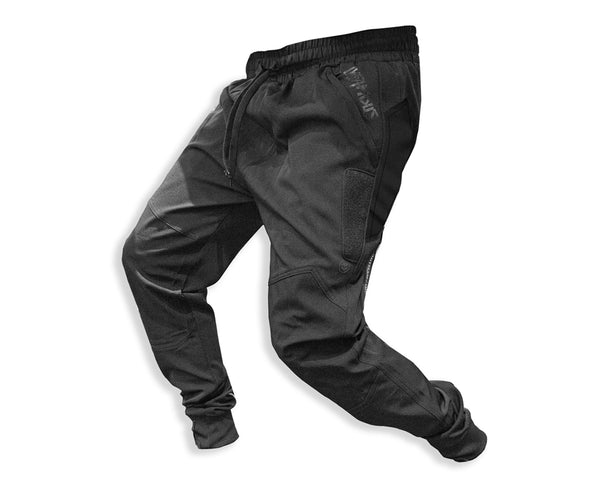 Infamous Pro DNA Sicario Paintball Joggers Pants Black Size Large