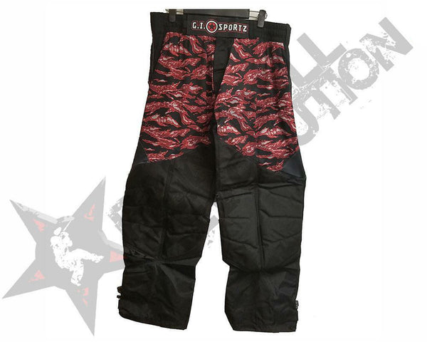 GI Sportz Glide Paintball Pants Tiger Crimson L
