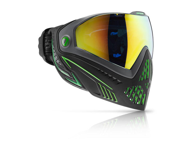 Dye Precision i5 Paintball Mask Goggles Emerald (Black Lime)