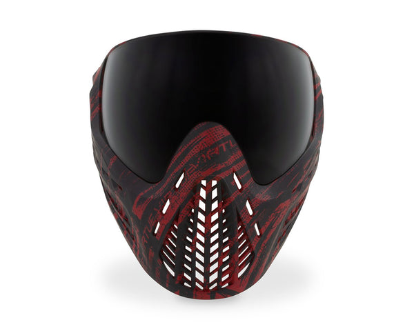Virtue VIO Ascend Paintball Goggles Mask Graphic Red