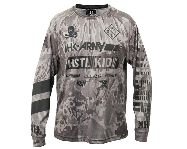 HK Army Hostile DryFit Long Sleeve Camo XL