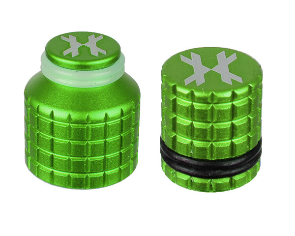 HK Army Thread Guard and Fill Nipple Cover Combo Neon Green