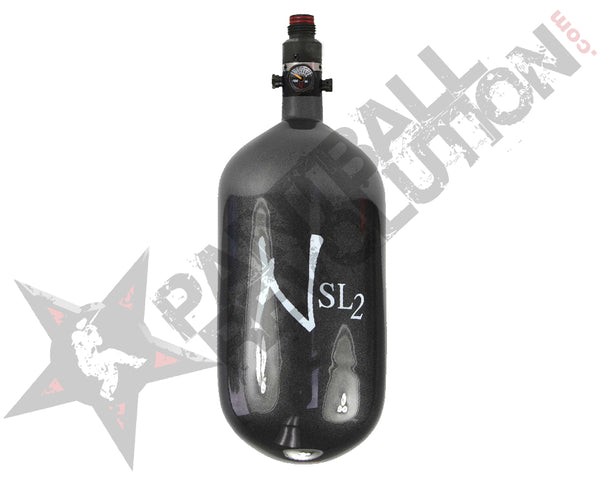 Ninja SL2 Carbon Fiber Air Tank Gunsmoke 68/4500 w Standard Adjustable Reg