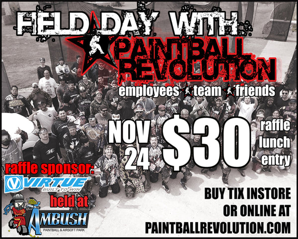 Field Day with Paintball Revolution - Nov 24