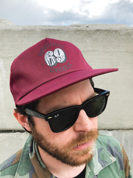 Rawhide Cycles x Austin Maples 69 Snapback Hat