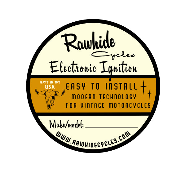 Rawhide Cycles Electronic Ignition for Yamaha XS650 1969-1985