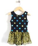 Tiny Dancer Leotard in Animal Dots