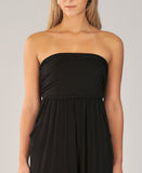 Riviera Maxi Dress in Black