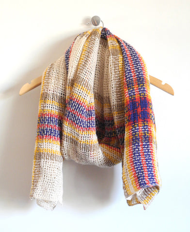 Laxford Scarf in Natural