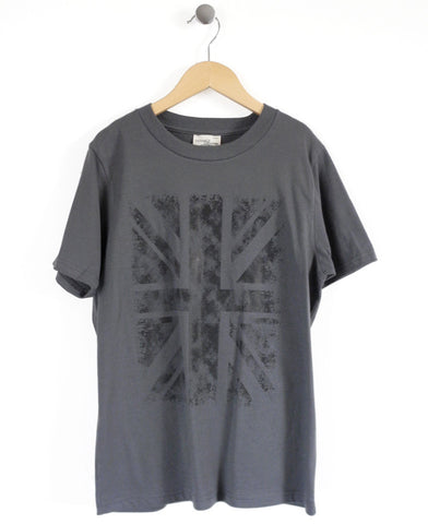 Union Jack Kids T-Shirt in Green