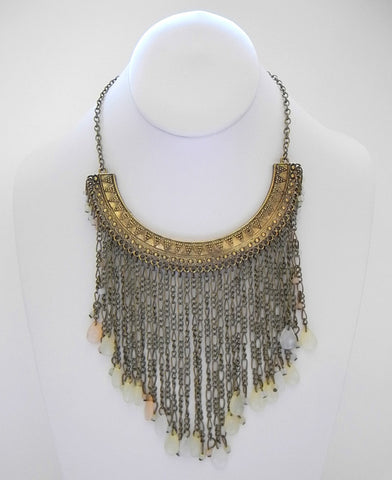 Cleo Bib Necklace