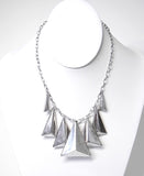 Pyramid Statement Necklace