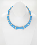 Bamboo Blue Necklace