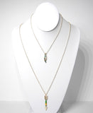 Bird and Arrow Layered Necklace