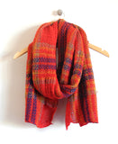Laxford Scarf in Red