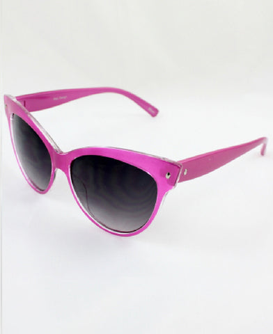 Cat Eye Sunglasses in Pink
