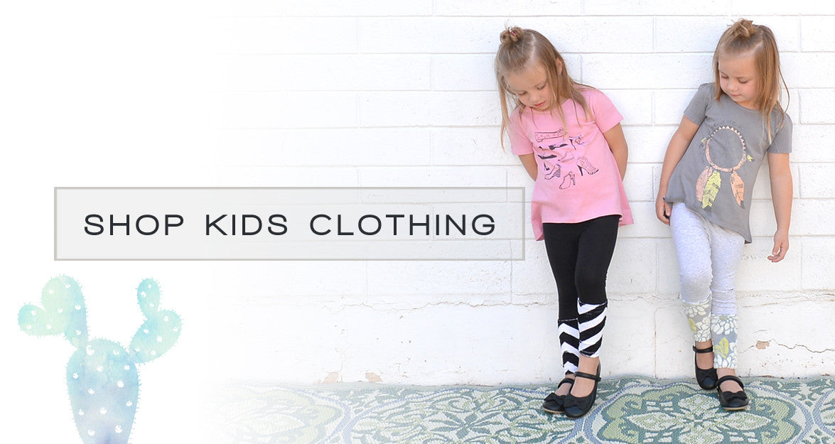 Cute, fun and fashionable clothing and t-shirts for baby, toddler, kids and children.