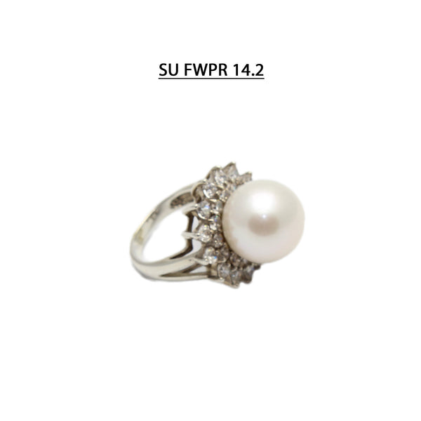 AAA 14.2 MM Freshwater Pearl Ring.