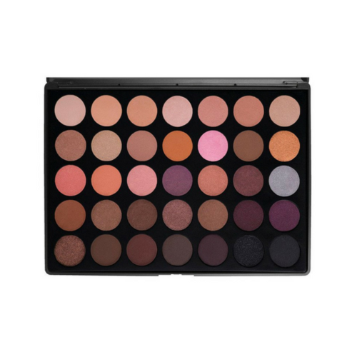 MORPHE 35W - 35 COLOR WARM EYESHADOW PALETTE