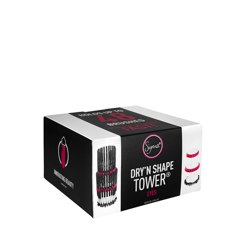 Dry'n Shape Tower® Eyes - Holds up to 48 eye brushes