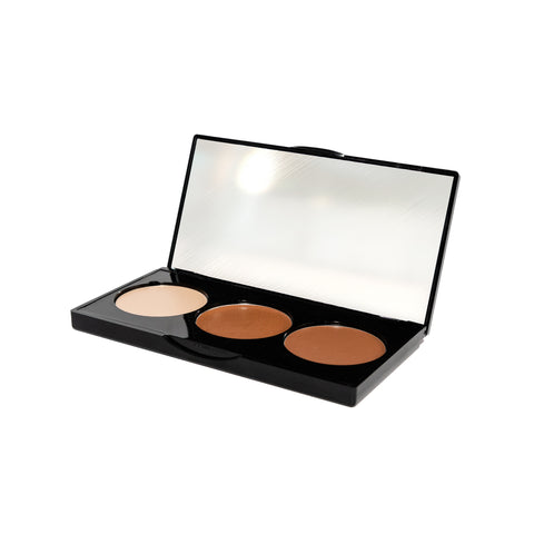 CONTOUR PALETTE - 3 WELL CREAM