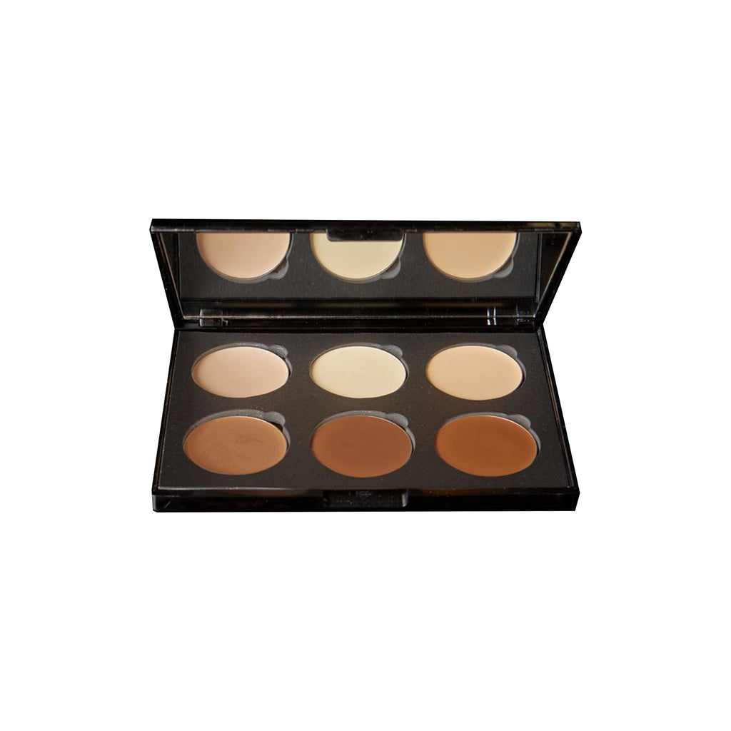 CONTOUR PALETTE - 6 WELL CREAM