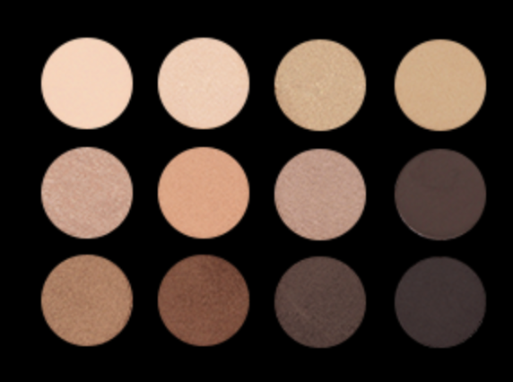 12 WELL EYESHADOW PALETTE