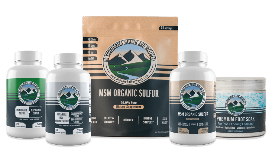 Organic Sulfur MSM Crystals products