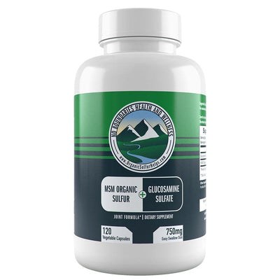 Glucosamine MSM from No Boundaries Health and Wellness