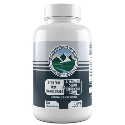 Glucosamine Chondroitin MSM Capsules | Easy Swallow Size No Boundaries Health & Wellness