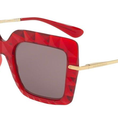 Dolce and Gabbana DG6111 31477N TRANSPARENT BORDEAUX