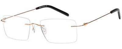 Emporium Rimless Emporium Rimless EMP7588  - Gold Specs at Home