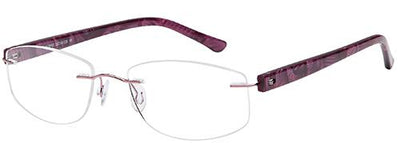 Emporium Rimless Emporium Rimless EMP7589  - Purple Specs at Home