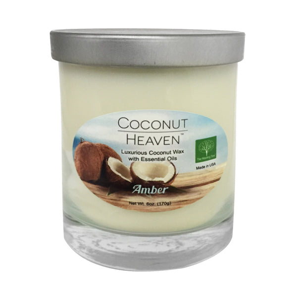 Coconut Heaven Candle | Amber