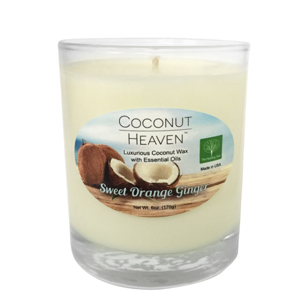 Coconut Heaven Candle | Sweet Orange Ginger