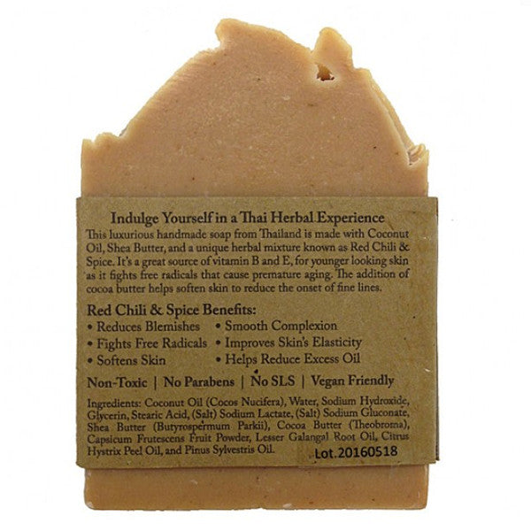 Red Chili & Spice Handmade Soap