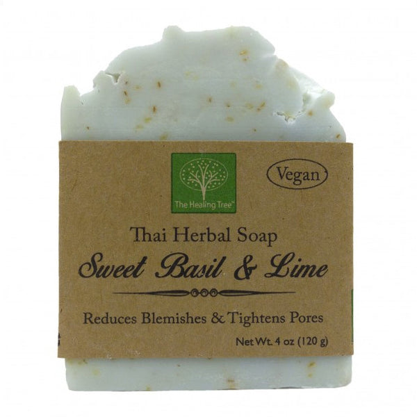 Sweet Basil & Lime Handmade Soap