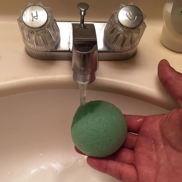 Green Tea Facial Softening Sponge